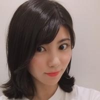 女優 明日香のコラム「黒髪で垢抜けたヘアスタイルについて」