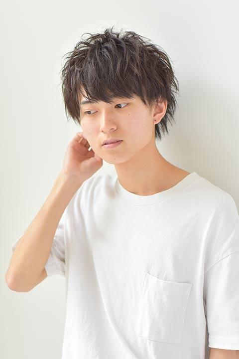 2021年秋トレンドメンズヘアスタイル紹介!! マッシュウルフ