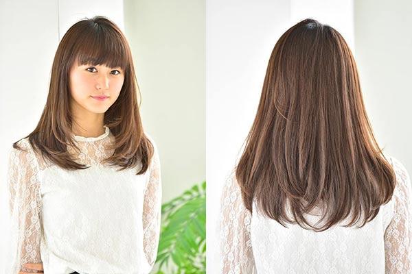 【サラ艶ストレート☆】シャンプー+縮毛矯正+カット+クイック