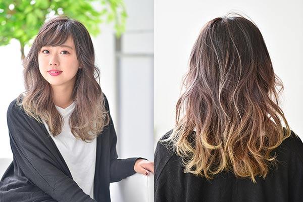 【透明感抜群!】ブリーチ(1回)+カラー+カット +クイック